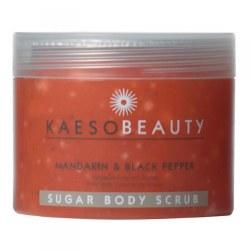 Kaeso Mandarin & Black Pepper Sugar Body Scrub 450ml