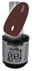 The Edge NailFX Soak Off Gel Chocolate Stars 15ml