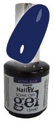 The Egde NailFX Soak Off Gel Royal Blue 15ml