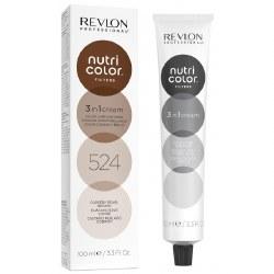 Revlon Nutri Colour Creme 524 Coppery Pearl Brown 100ml