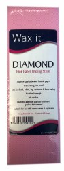 Wax It Diamond Pink Paper Waxing strips