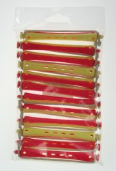 Comby Perm Rods Yellow/Red