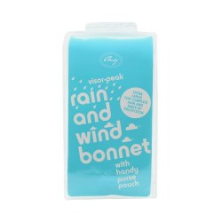 Comby Rain and Wind Bonnet