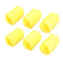 Sibel Sponge Rollers Yellow Extra Large