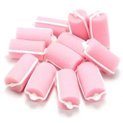 Sibel Sponge Rollers Pink Medium