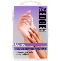 The Edge Ultra 100 Assorted Nail Tips