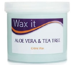 Wax It Creme Depilatory Wax with Aloe Vera & Tea Tree 475g