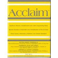 Acclaim Yellow Extra Body Formula