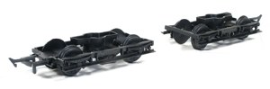 Parkside Models by Peco OO PA108 LMS (Ex LNWR)  8ft Coach Bogies with Wheels x 2