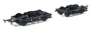 Ratio OO 108 LMS (Ex LNWR)  8ft Coach Bogies with Wheels x 2