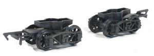 Parkside Models by Peco OO PA125 Pr. Diamond Frame Bogies Spoked Wheels