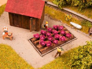 Noch OO 13218 Red Cabbages Deco Minis