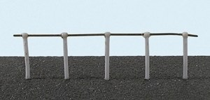 Ratio OO 143 Hand Rail Stanchions Single Rail