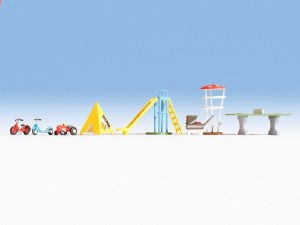 Noch OO 14814 Playground Accessories (HO Scale)