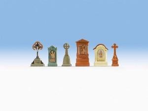 Noch OO 14871 Gravestones. (HO Scale)