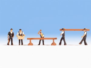 Noch OO 15051 Carpenters (HO Scale)