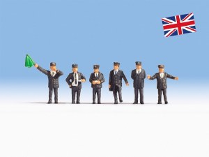 Noch OO 15271 British Railway Staff (HO Scale)