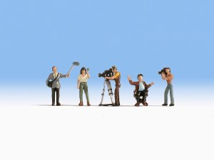 Noch OO 15573 Camera Crew (HO Scale)