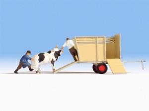 Noch OO 16650 Bull Transportation (HO Scale)