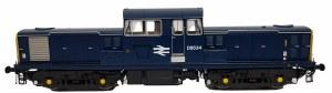Heljan OO 1723 Class 17 BR Blue Full Yellow Ends D8534