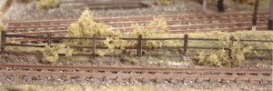 Ratio N 217 Lineside Fencing wood brown