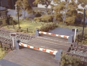 Ratio N 235 Level Crossing with barriers