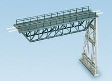 Ratio N 241 Steel Truss Span with steel trestle