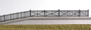 Ratio N 246 GWR Spear Fencing black ramps and gates