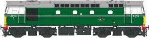 Heljan OO 2712 Class 27 D5404 in green with small yellow panels