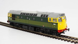 Heljan OO 2719 Class 27 5380 BR Two-Tone Green with Full Yellow Ends (Lightly Weathered)