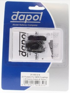 Dapol N 2A-000-014 20 Pockets for NEM Magnetic Couplings