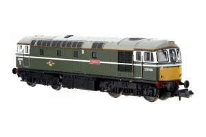 Dapol N 2D-001-006 Class 33/0 33008 BR Green 'Eastleigh' Yellow Front