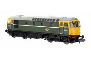 Dapol N 2D-001-008 Class 33/0 D6561 BR Green Full Yellow Front