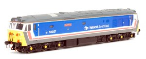 Dapol N 2D-002-003D Class 50 50037 Original Network SoutEast 'Illustrious' DCC