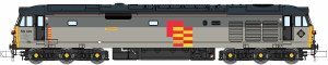 Dapol N 2D-002-005D Class 50 Defiance 50149 Railfreight Grey  Refurbished DCC Fitted