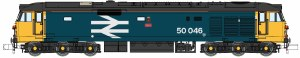 Dapol N 2D-002-006D Class 50 Ajax 50046 Large Logo Refurbished DCC Fitted