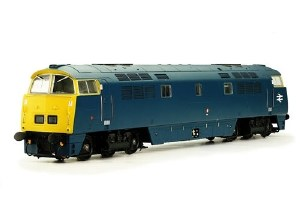 Dapol N 2D-003-004 D1058 Western Nobleman BR Blue with Full Yellow Ends