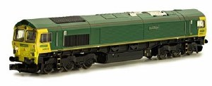 Dapol N 2D-007-004 Class 66 Co-Co 66 612 Freightliner Unbranded