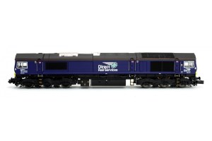 Dapol N 2D-007-007 Class 66 66421 New DRS Livery