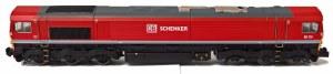 Dapol N 2D-007-008 Class 66 66114 DB Schenker Red