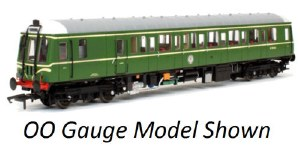 Dapol N 2D-009-003 Class 121 W55033 BR Green Speed Whiskers