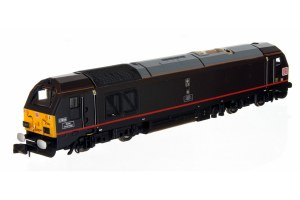 Dapol N 2D-010-008 Class 67 DB 67006 Royal Sovereign