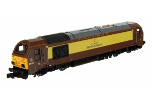 Dapol N 2D-010-010 Class 67 Belmond British Pullman 67021