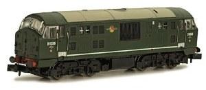 Dapol N 2D-012-010 Class 22 B-B D6326 BR Green no Warning Panel with Disc Headcode