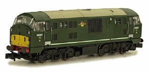 Dapol N 2D-012-011 Class 22 B-B D6327 BR Green with Amended Yellow Panels Disc Headcodes