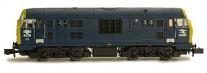 Dapol N 2D-012-014 Class 22 B-B D6328 BR Blue with Full Yellow Ends