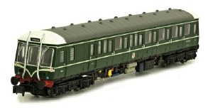 Dapol N 2D-015-001 Class 122 55000 BR Green with Whiskers