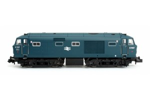 Dapol N 2D-018-009 Hymek D7007 BR Blue Small Yellow Panel Double Arrow Logo