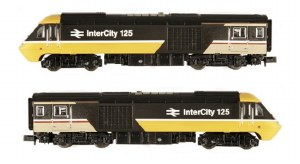 Dapol N 2D-019-201 Class 43 HST I/City Exec Twin Pack W43131 & W43128