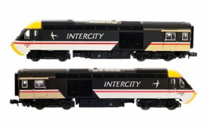 Dapol N 2D-019-202 Class 43 HST I/City Swallow Twin Pack W43041 & W43166